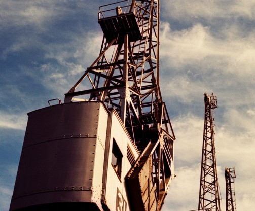 M Shed Cranes Image (c) M Shed Bristol