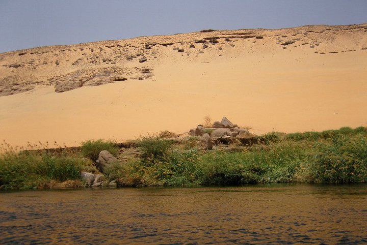 On The banks of the river Nile 3
