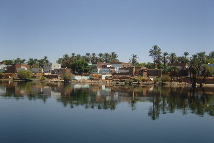 On The banks of the river Nile 1